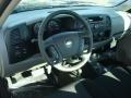 2012 Black Chevrolet Silverado 1500 Work Truck Regular Cab 4x4  photo #4