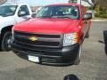 2012 Victory Red Chevrolet Silverado 1500 Work Truck Extended Cab  photo #1