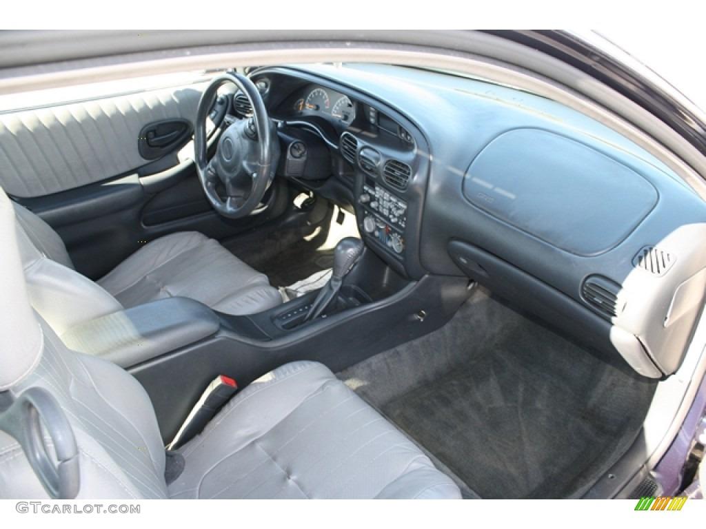 2001 Pontiac Grand Prix Gt Coupe Graphite Gray Dashboard Photo 56173352