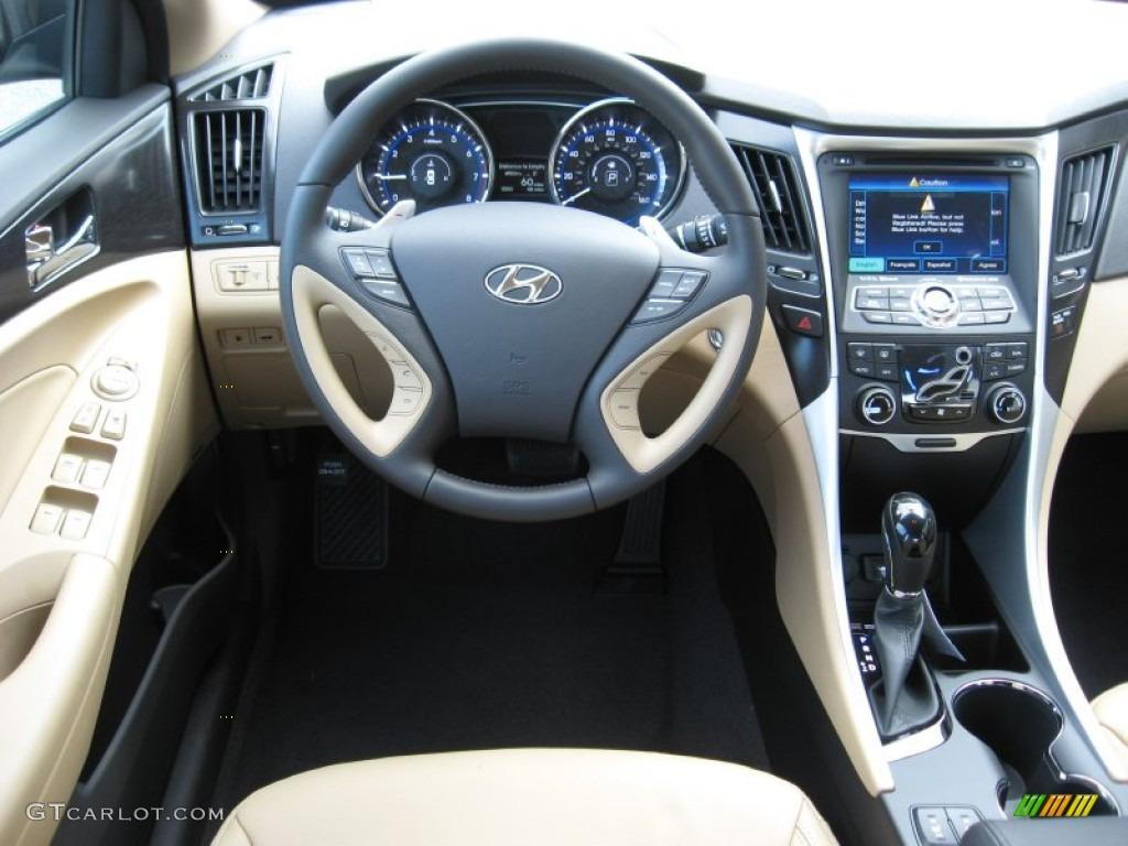2012 Hyundai Sonata Limited 2 0t Camel Dashboard Photo 56184380 Gtcarlot Com