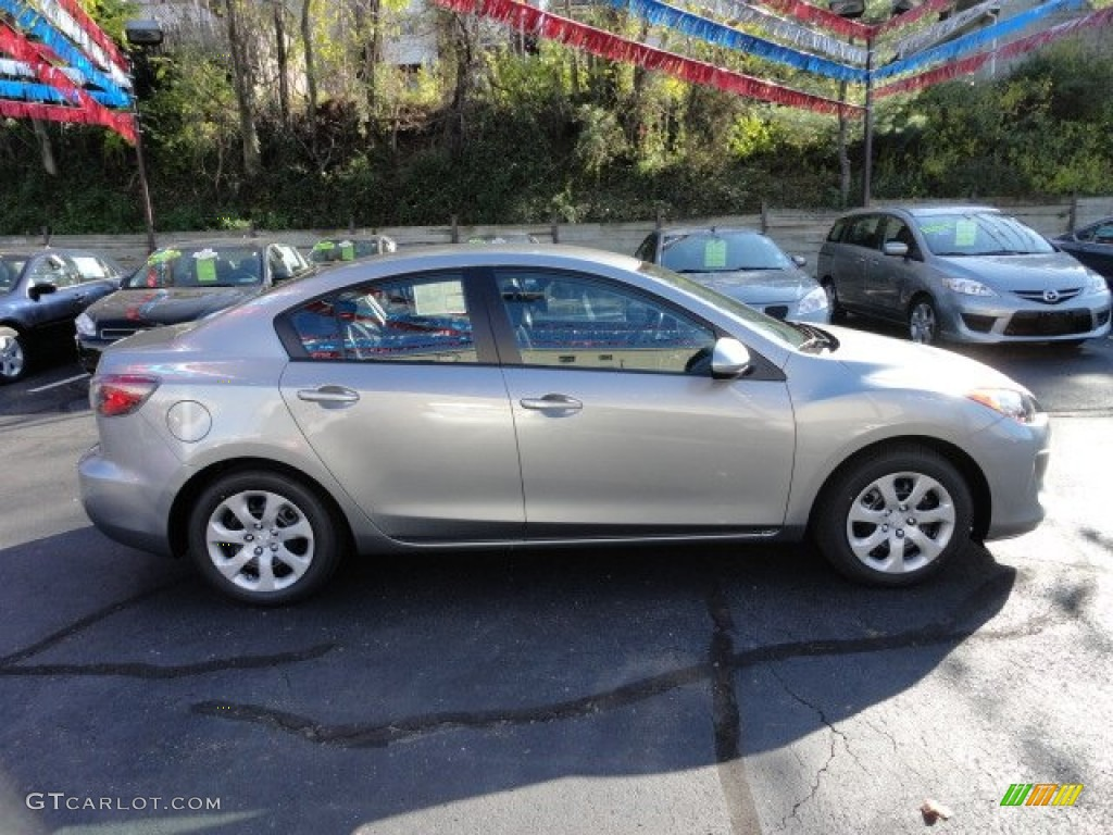 Liquid Silver Metallic 2012 Mazda Mazda3 I Sport 4 Door Exterior Photo 56199665 Gtcarlot Com