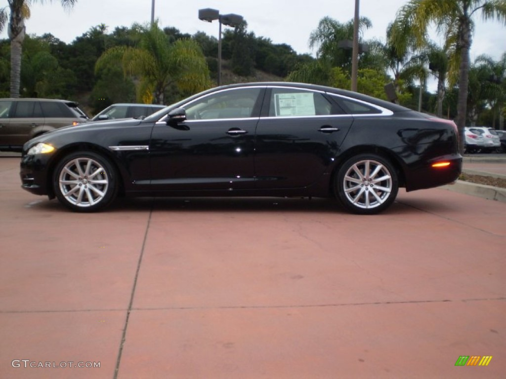Ebony 2012 jaguar xj xj exterior photo 56205455 for Jaguar xj exterior
