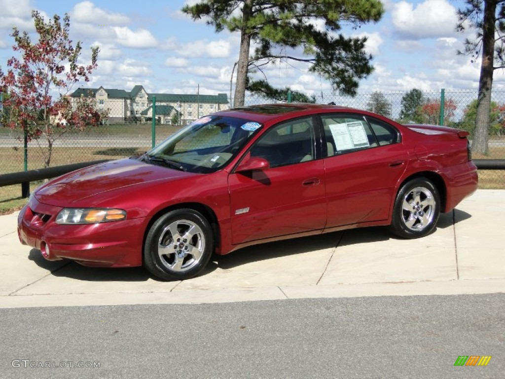 Sport red metallic 2003 pontiac bonneville ssei exterior photo 56208857