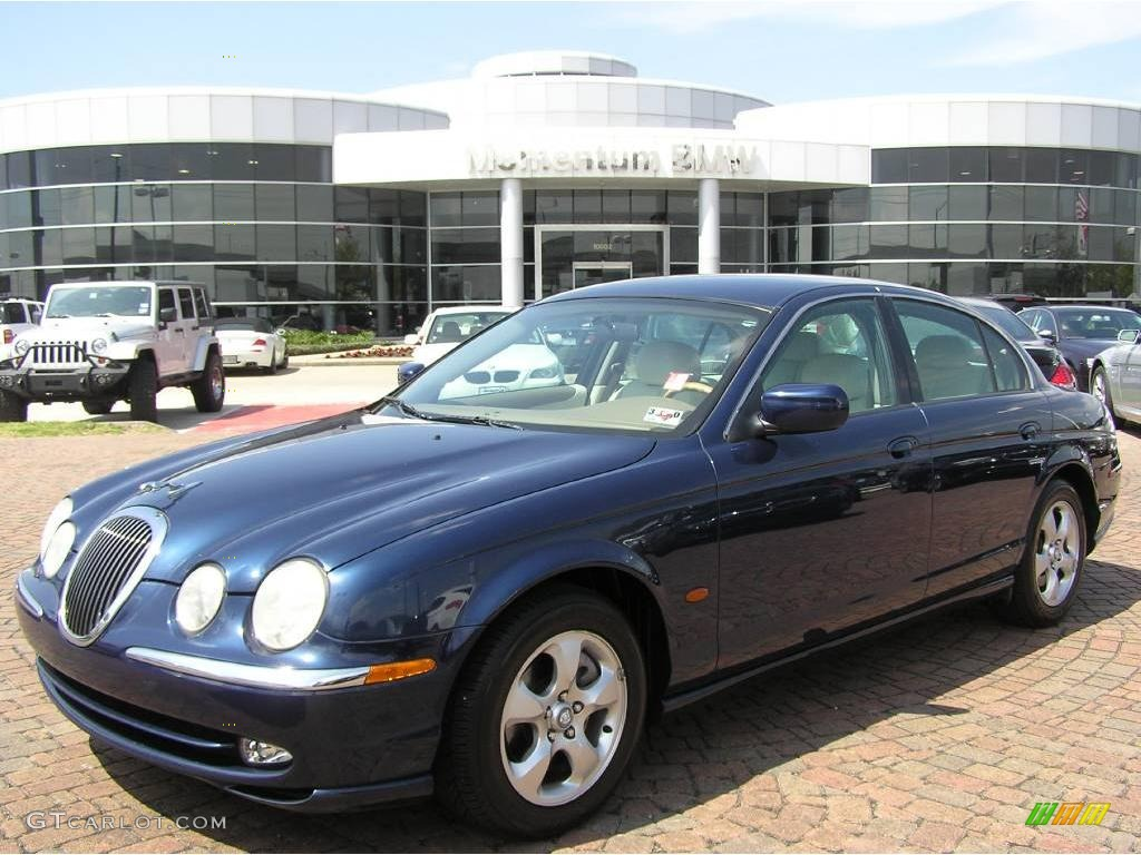2002 sapphire blue metallic jaguar s type 3 0 5612452. Black Bedroom Furniture Sets. Home Design Ideas