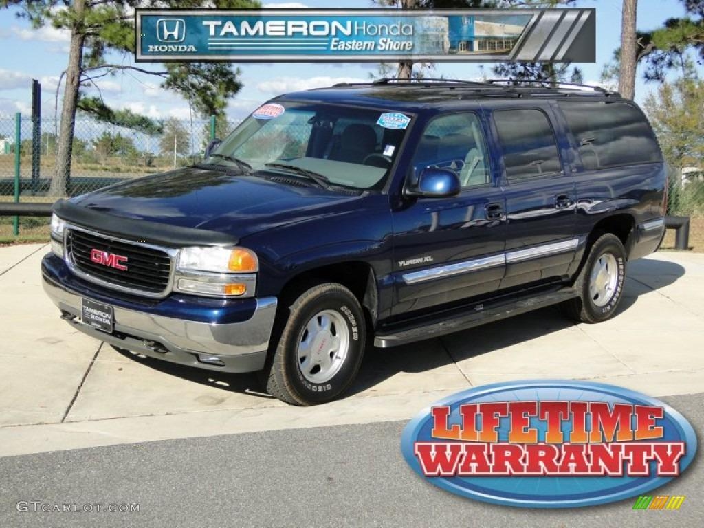2000 indigo blue metallic gmc yukon xl sle 56189325 car color galleries. Black Bedroom Furniture Sets. Home Design Ideas