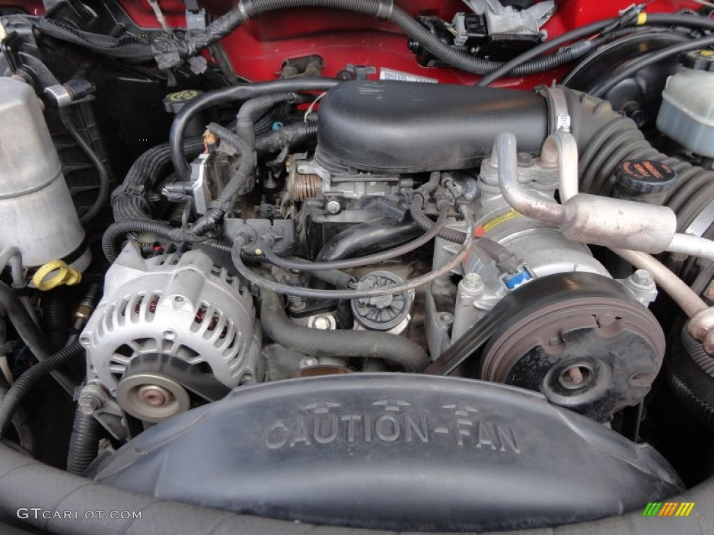 on 1995 Chevy S10 V6 Engine
