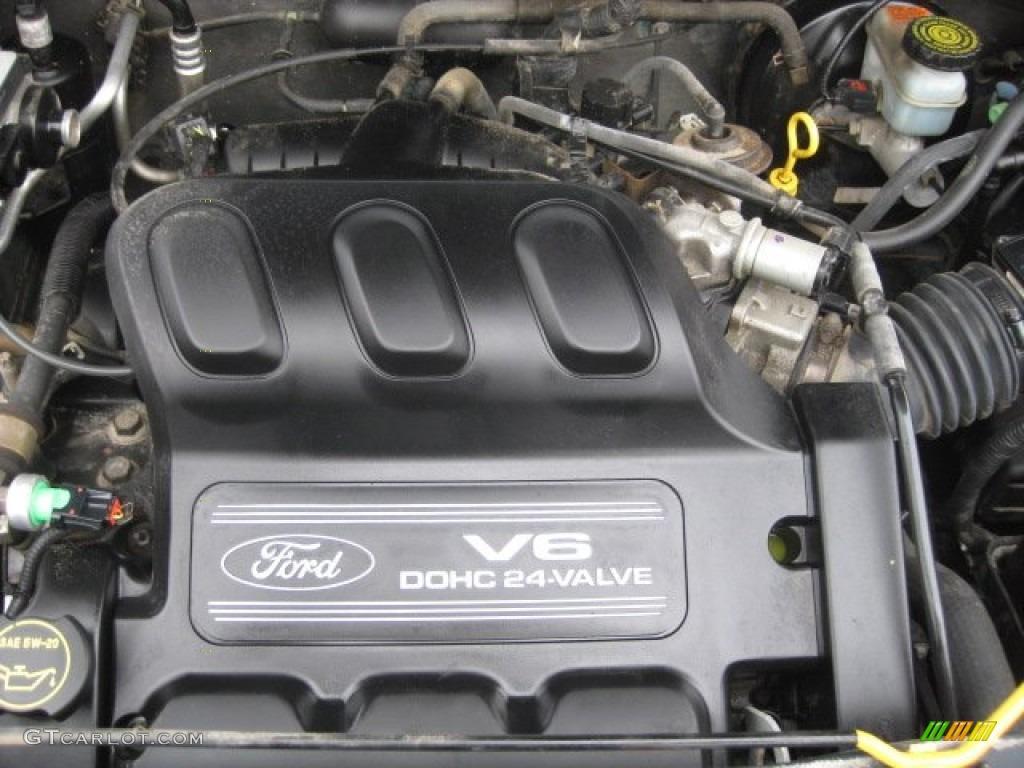 2001 Ford Escape Xls V6 4wd Engine Photos