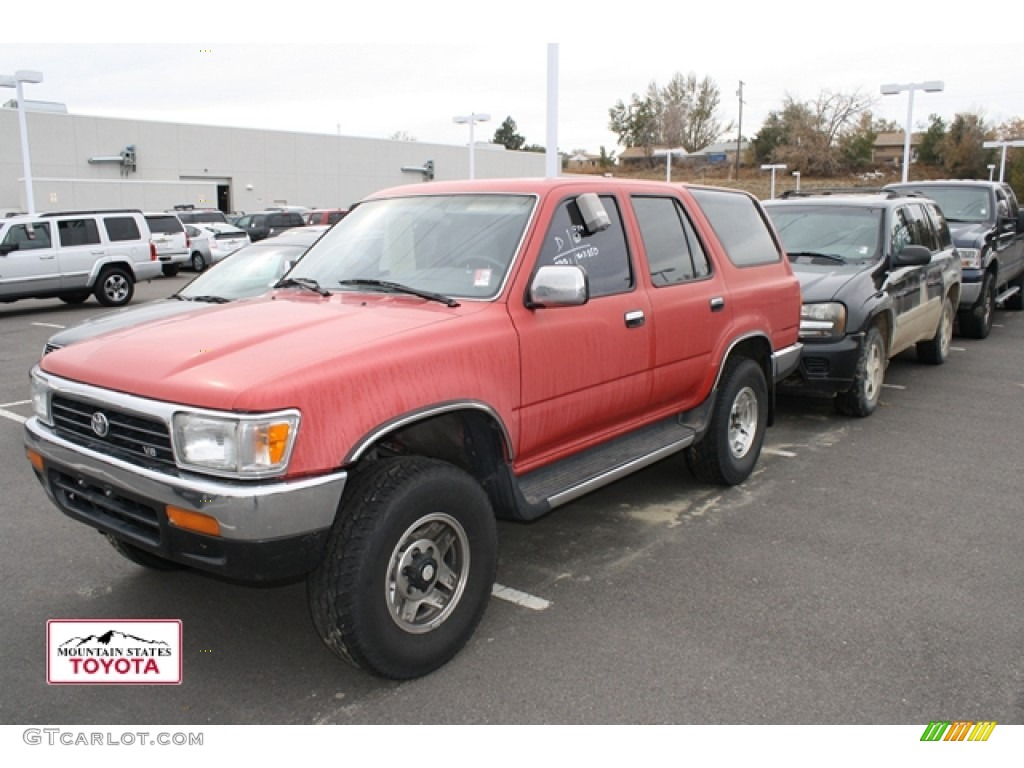 1994 Cardinal Red Toyota 4runner Sr5 4x4 56188860 Photo 4 Car Color Galleries