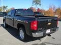 2012 Black Chevrolet Silverado 1500 LT Extended Cab  photo #2