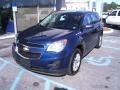 2010 Navy Blue Metallic Chevrolet Equinox LS  photo #2