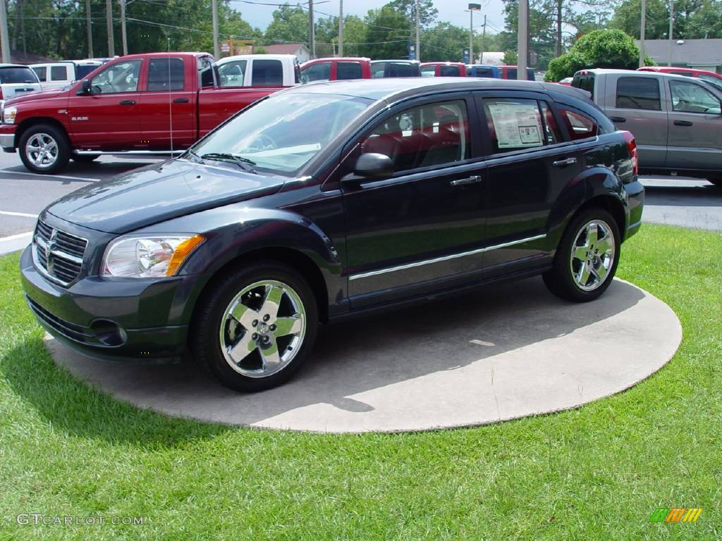 2007 steel blue metallic dodge caliber r t 545494 car color galleries. Black Bedroom Furniture Sets. Home Design Ideas
