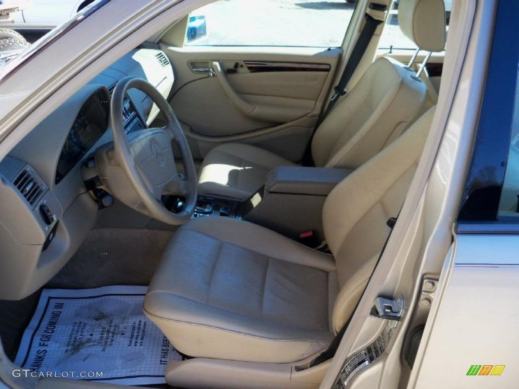 Parchment interior 1999 mercedes benz c 280 sedan photo for Mercedes benz interior parts online