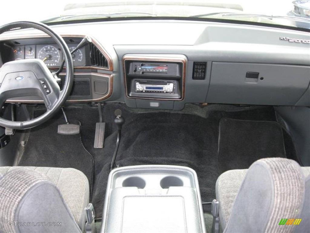 Custom Bronco Dash 1990 Ford Bronco Custom 4x4