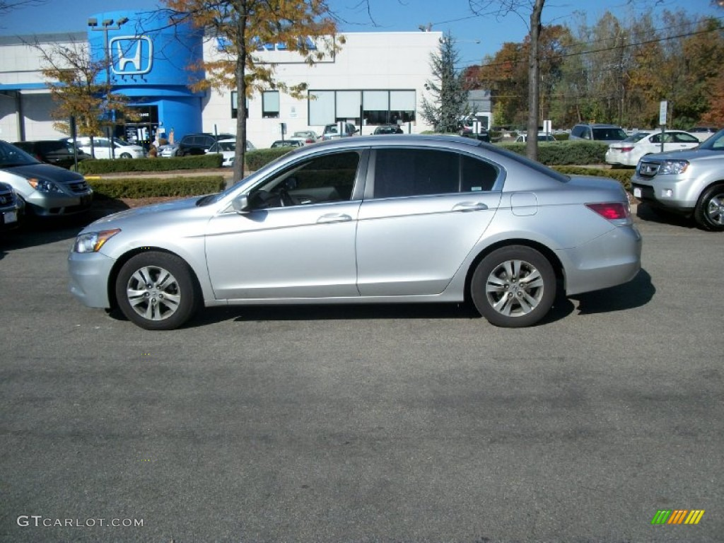 2011 Alabaster Silver Metallic Honda Accord Se Sedan