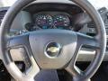 Dark Titanium Steering Wheel Photo for 2010 Chevrolet Silverado 1500 #56239673