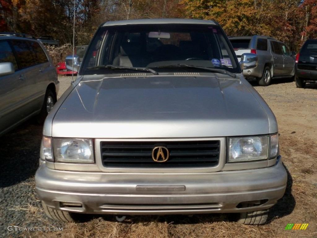 Light Silver Metallic 1996 Acura SLX 4x4 Exterior Photo