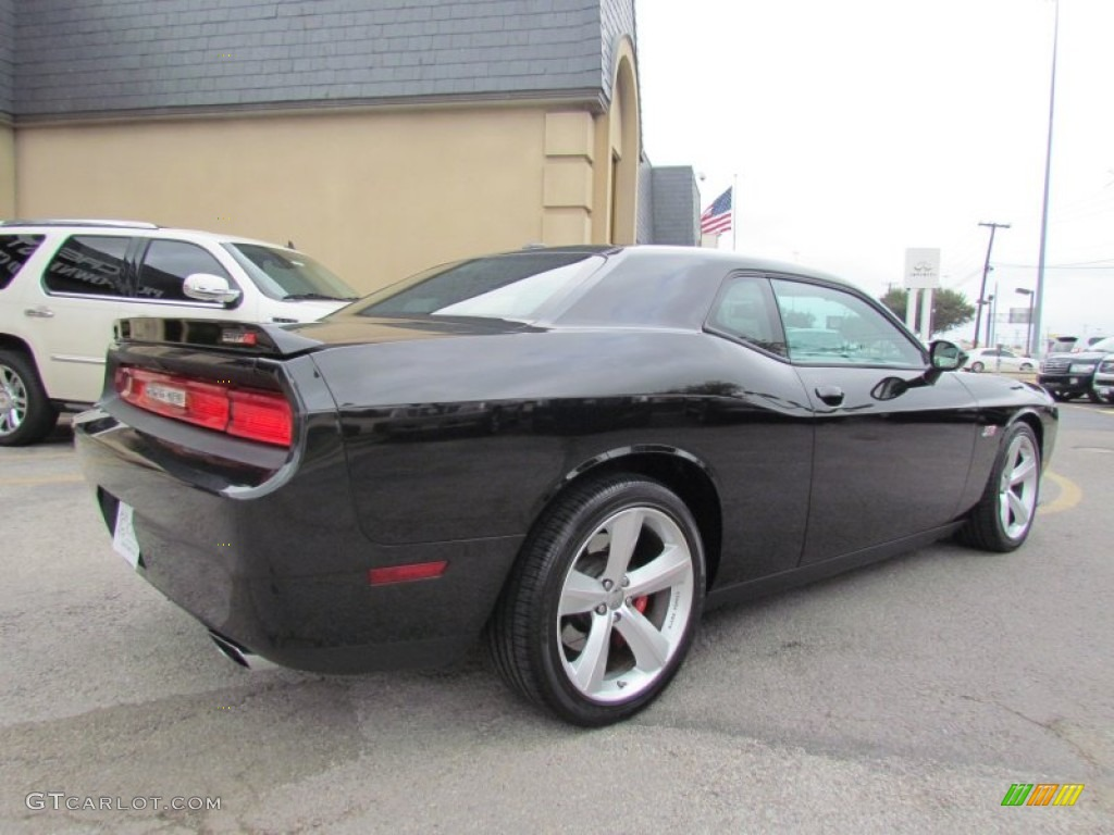 2011 challenger srt8 392 brilliant black crystal pearl dark slate gray photo 4