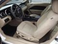 Medium Parchment 2008 Ford Mustang Interiors