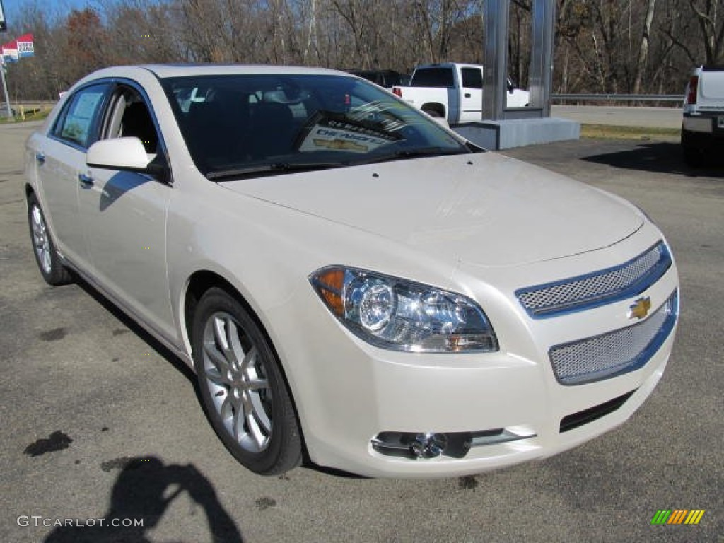 White diamond tricoat 2012 chevrolet malibu ltz exterior photo 56252303 gtcarlot com