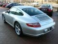 Arctic Silver Metallic - 911 Carrera Coupe Photo No. 7