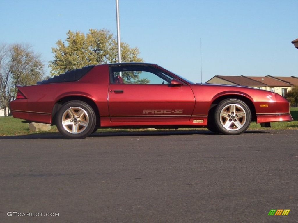 Bright Red 1986 Chevrolet Camaro Z28 Coupe Exterior Photo ...