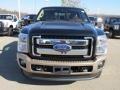 2012 Black Ford F250 Super Duty King Ranch Crew Cab 4x4  photo #7