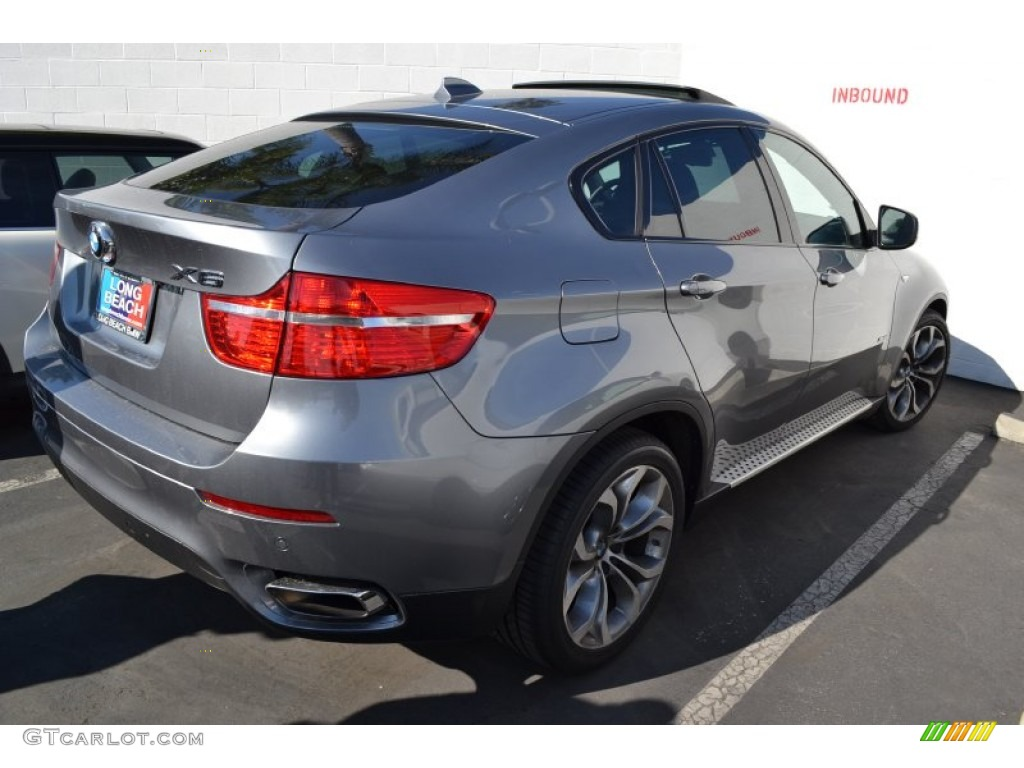 2012 Space Grey Metallic Bmw X6 Xdrive50i 56231196 Photo 3