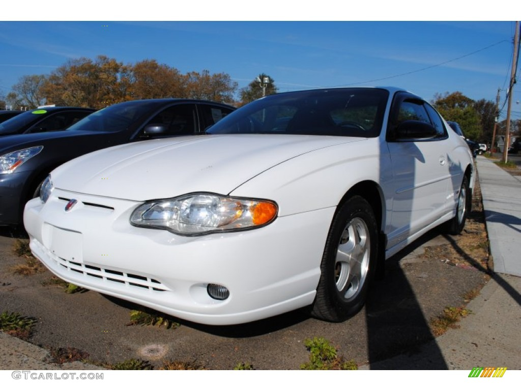 2000 Monte Carlo SS - Bright White / Ebony photo #1