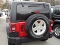 2012 Flame Red Jeep Wrangler Sport S 4x4  photo #3