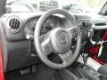2012 Flame Red Jeep Wrangler Sport S 4x4  photo #7