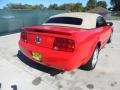 2007 Torch Red Ford Mustang V6 Premium Convertible  photo #3