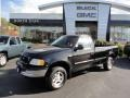 Black 1997 Ford F150 XLT Regular Cab 4x4