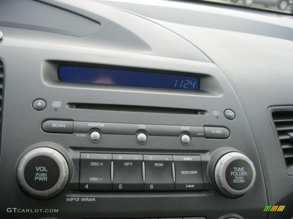 2009 honda civic lx sedan audio system photo 56305770. Black Bedroom Furniture Sets. Home Design Ideas