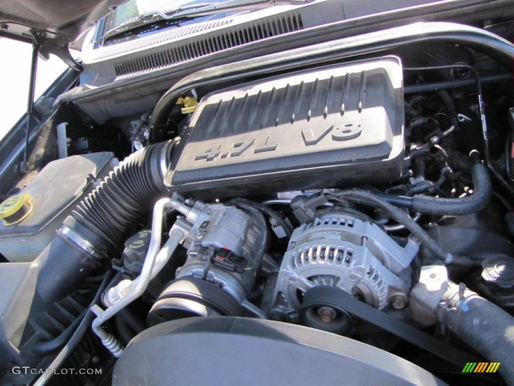 2005 jeep grand cherokee laredo 4 7 liter sohc 16v powertech v8 engine photo 56317506. Black Bedroom Furniture Sets. Home Design Ideas