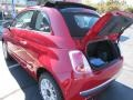 Rosso Brillante (Red) - 500 c cabrio Lounge Photo No. 6