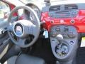Dashboard of 2012 500 c cabrio Lounge