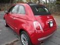 2012 500 c cabrio Lounge Rosso Brillante (Red)
