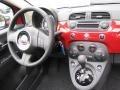 Dashboard of 2012 500 c cabrio Lounge