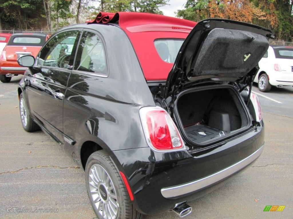 2012 fiat 500 c cabrio lounge trunk photo 56321047. Black Bedroom Furniture Sets. Home Design Ideas