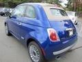 2012 500 c cabrio Lounge Azzurro (Blue)