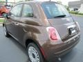 Espresso (Brown) 2012 Fiat 500 Pop Exterior