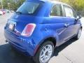Azzurro (Blue) 2012 Fiat 500 Pop Exterior