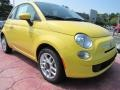 Giallo (Yellow) 2012 Fiat 500 Pop Exterior