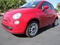 Rosso (Red) 2012 Fiat 500 Pop Exterior
