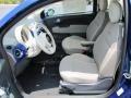 Tessuto Avorio/Avorio (Ivory/Ivory) 2012 Fiat 500 Interiors