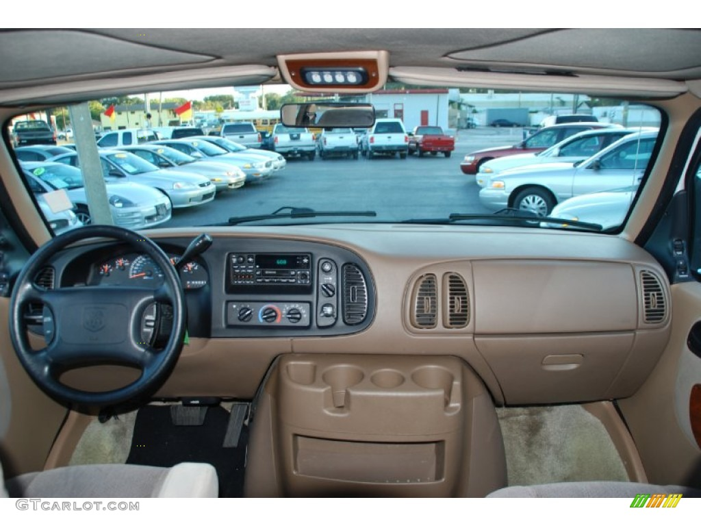 2000 Dodge Ram Van 1500 Passenger Conversion Camel/Tan Dashboard