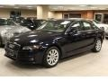 Deep Sea Blue Pearl Effect - A4 2.0T Premium quattro Sedan Photo No. 1