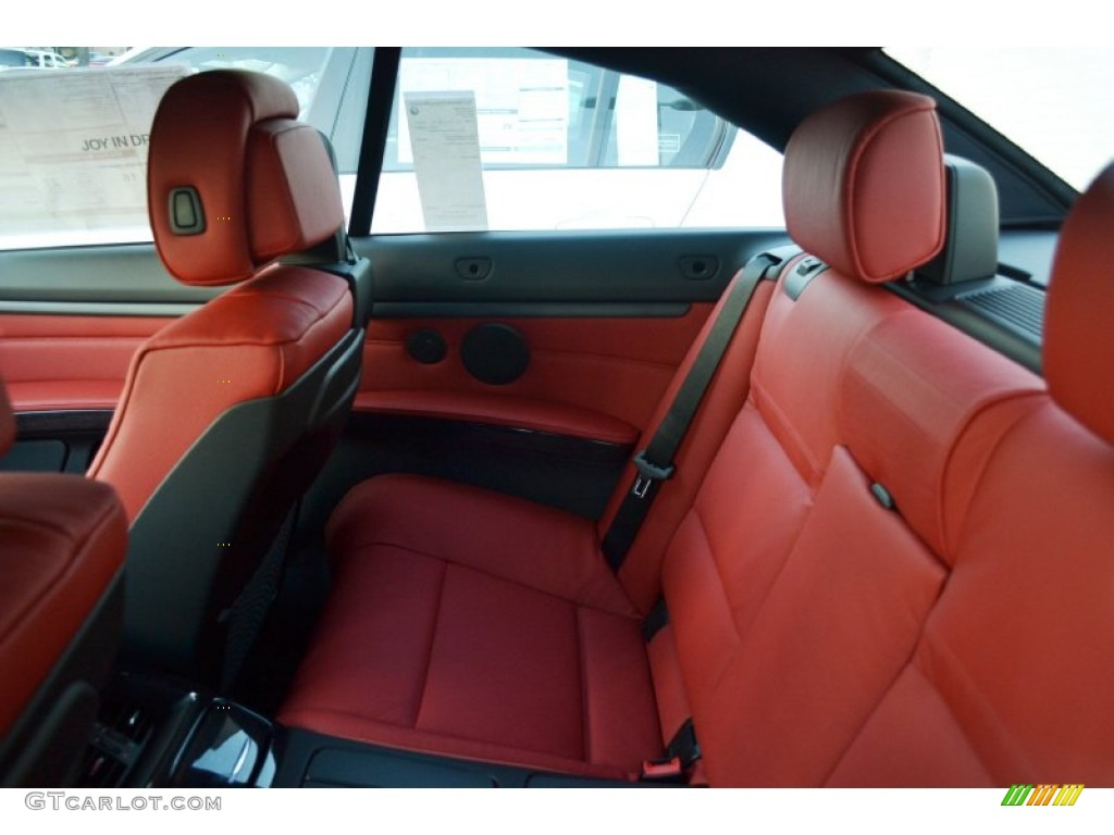 Coral Red Black Interior 2012 BMW 3 Series 328i Convertible Photo 56342785