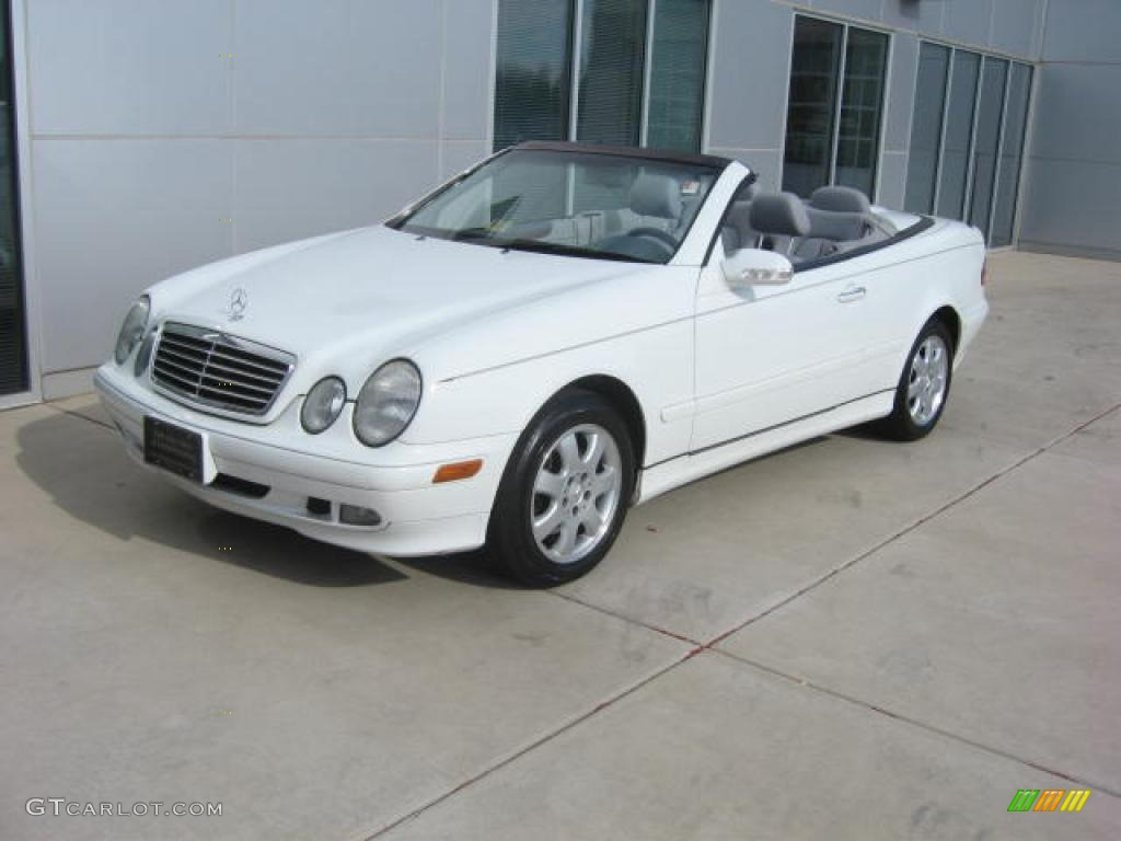 2000 glacier white mercedes benz clk 320 cabriolet 5612635 car color galleries. Black Bedroom Furniture Sets. Home Design Ideas