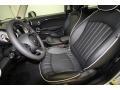 Carbon Black Lounge Leather 2012 Mini Cooper Interiors